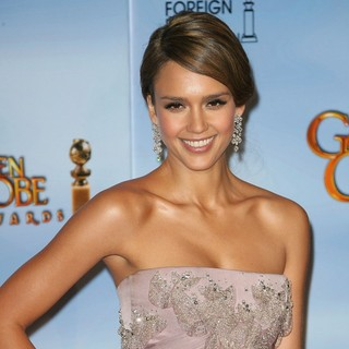 Jessica Alba in The 69th Annual Golden Globe Awards - Press Room