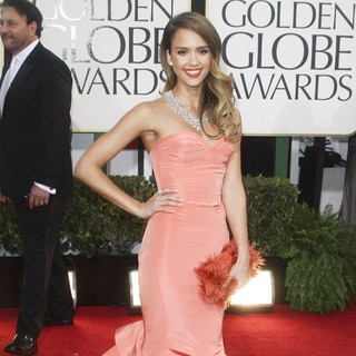 Jessica Alba in 70th Annual Golden Globe Awards - Arrivals