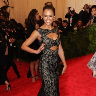 Jessica Alba in PUNK: Chaos to Couture Costume Institute Gala