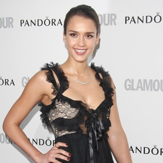 Jessica Alba in The Glamour Women of The Year Awards 2012 - Arrivals