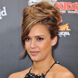 Jessica Alba in Spy Kids 4 All the Time in the World Los Angeles Premiere