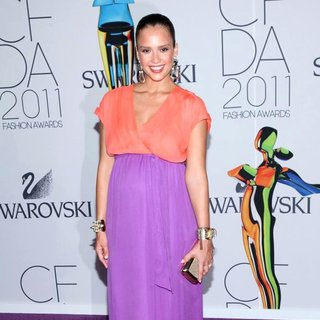 Jessica Alba in The 2011 CFDA Fashion Awards