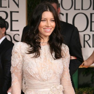 Jessica Biel in The 69th Annual Golden Globe Awards - Arrivals