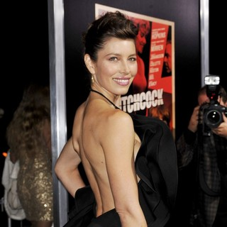 Jessica Biel in The Premiere of Fox Searchlight Pictures' Hitchcock - Arrivals
