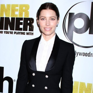 Jessica Biel in Twentieth Century Fox and New Regency Celebrate The World Premiere of Runner, Runner