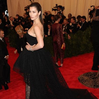 Jessica Biel in PUNK: Chaos to Couture Costume Institute Gala