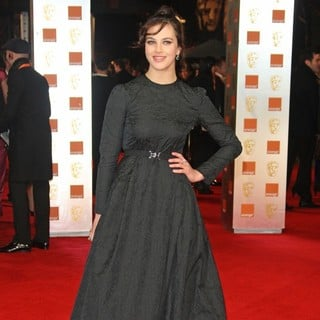 Jessica Brown Findlay in Orange British Academy Film Awards 2012 - Arrivals