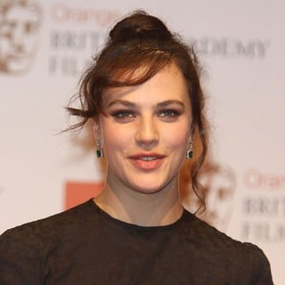 Jessica Brown Findlay in Orange British Academy Film Awards 2012 - Press Room