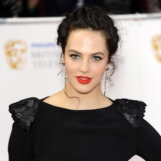 Jessica Brown Findlay in Philips British Academy Television Awards in 2011 - Arrivals