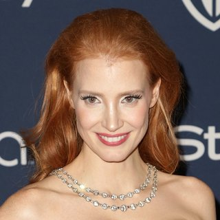 Jessica Chastain in The 15th Annual Warner Bros and InStyle Golden Globe Awards After Party - Arrivals
