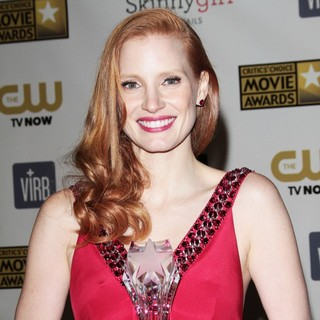 Jessica Chastain in 18th Annual Critics' Choice Movie Awards - Press Room