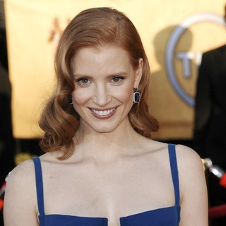 Jessica Chastain in The 18th Annual Screen Actors Guild Awards - Arrivals