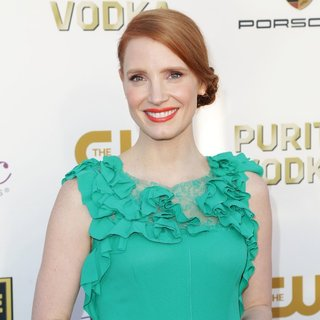 Jessica Chastain in The 19th Annual Critics' Choice Awards