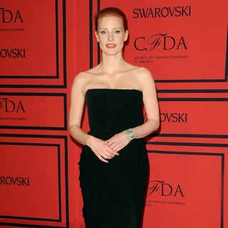 Jessica Chastain in 2013 CFDA Awards - Arrivals