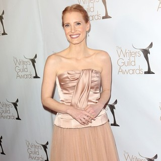 Jessica Chastain in 2013 Writers Guild Awards - Arrivals