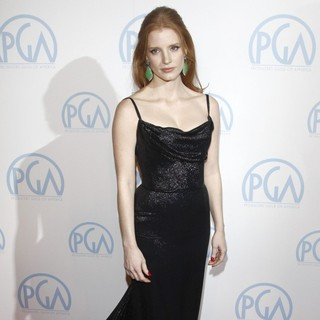 Jessica Chastain in The 23rd Annual Producers Guild Awards - Arrivals