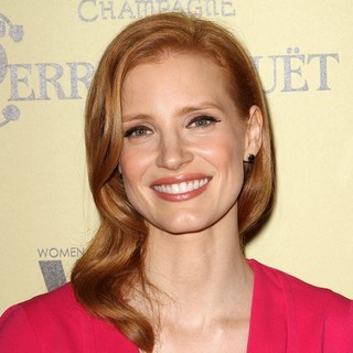Jessica Chastain in 5th Annual Women in Film Pre-Oscar Cocktail Party