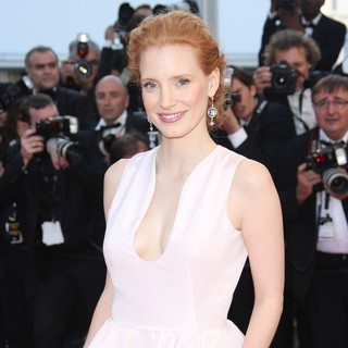 Jessica Chastain in Moonrise Kingdom Premiere - During The Opening Ceremony of The 65th Cannes Film Festival