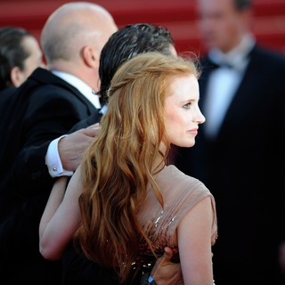 Jessica Chastain in Lawless Premiere - During The 65th Annual Cannes Film Festival
