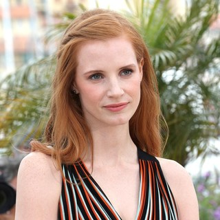 Jessica Chastain in Lawless Photocall - During The 65th Annual Cannes Film Festival