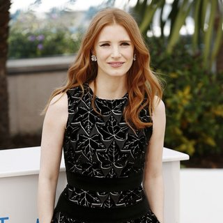 Jessica Chastain in The 67th Annual Cannes Film Festival - The Disappearance of Eleanor Rigby - Photocall