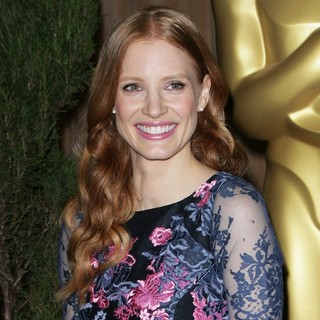 Jessica Chastain in 85th Academy Awards Nominees Luncheon
