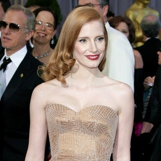 Jessica Chastain in The 85th Annual Oscars - Red Carpet Arrivals