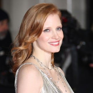 Jessica Chastain in Orange British Academy Film Awards 2012 - Arrivals
