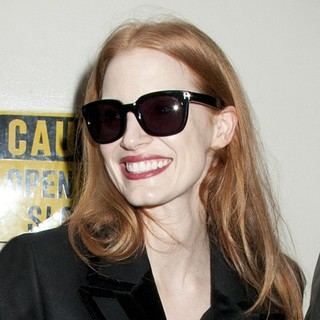 Jessica Chastain in Jessica Chastain Arrives for Matinee Performance of The Heiress