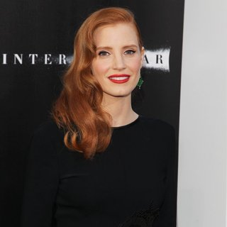 Jessica Chastain in Premiere of Paramount Pictures' Interstellar - Arrivals - jessica-chastain-premiere-interstellar-01