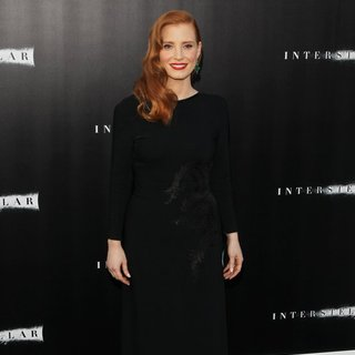 Jessica Chastain in Premiere of Paramount Pictures' Interstellar - Arrivals - jessica-chastain-premiere-interstellar-03