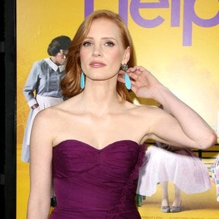 Jessica Chastain in World Premiere of The Help
