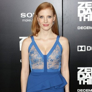 Jessica Chastain in Los Angeles Premiere of Columbia Pictures' Zero Dark Thirty