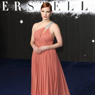 Jessica Chastain in UK Premiere of Interstellar - Arrivals - jessica-chastain-uk-premiere-interstellar-03