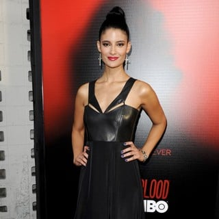 Jessica Clark in Premiere of HBO's True Blood Season 6 - Arrivals