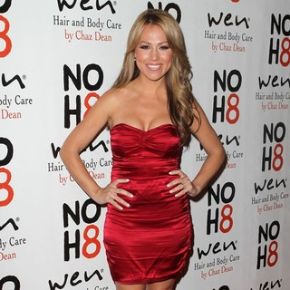 Jessica Hall in NOH8 Celebrity Studded 4th Anniversary Party - Arrivals