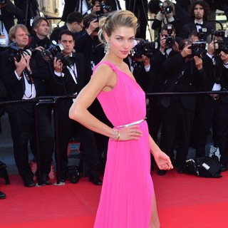 66th Cannes Film Festival - Behind the Candelabra Premiere - jessica-hart-behind-the-candelabra-premiere-02