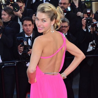 66th Cannes Film Festival - Behind the Candelabra Premiere - jessica-hart-behind-the-candelabra-premiere-03