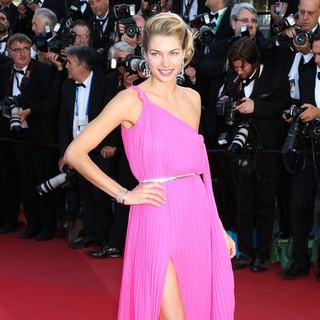 66th Cannes Film Festival - Behind the Candelabra Premiere - jessica-hart-behind-the-candelabra-premiere-04