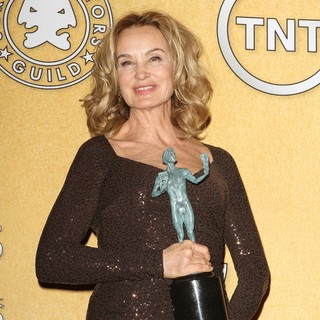 Jessica Lange in The 18th Annual Screen Actors Guild Awards - Press Room