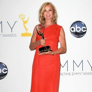 Jessica Lange in 64th Annual Primetime Emmy Awards - Press Room