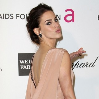 Jessica Lowndes in 21st Annual Elton John AIDS Foundation's Oscar Viewing Party