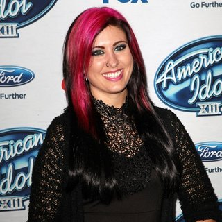 Jessica Meuse in FOX's American Idol XIII Finalists Party