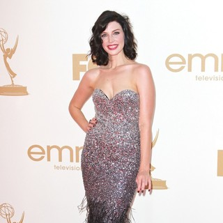 Jessica Pare in The 63rd Primetime Emmy Awards - Arrivals