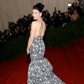 Jessica Pare in Charles James: Beyond Fashion Costume Institute Gala - Arrivals