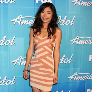 Jessica Sanchez in American Idol Season 11 Grand Finale Show - Press Room