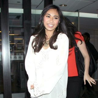 Jessica Sanchez in Jessica Sanchez Visits The Good Day NY Studios