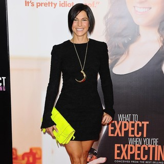 Jessica Seinfeld in What to Expect When You're Expecting New York Premiere