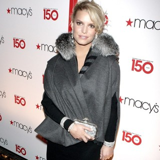 Jessica Simpson in Macy's 150th Birthday Gala Celebration - Arrivals