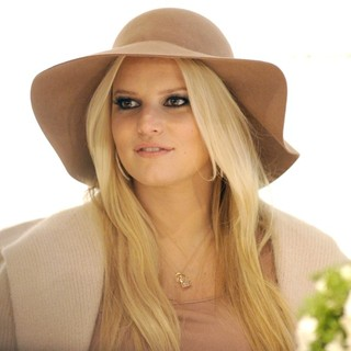 Jessica Simpson Promoting The Jessica Simpson Collection